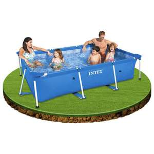 Frameset Swimming Pool Medium 3.0m X 2.0m 75cm High Garden Patio Intex 28272NP - £54.99 @ eBay (Euro Car Parts Store)