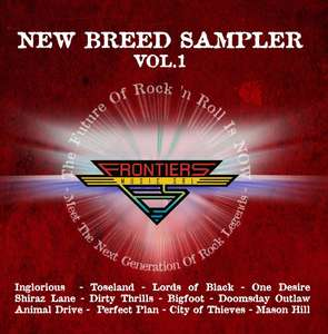 Outstanding New Rock Sampler  - Frontiers Music Free Download Of 'New Breed' @ Frontiers Music