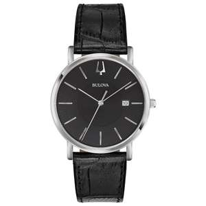 Bulova men's classic dress watch RRP:£99.99 at HS Johnson for £52.24 with code