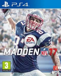 Madden 17 new £8.99 after 10% discount at Music Magpie