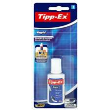 Bic Tipp Ex Rapid Drying Correction Fluid 20ml HALF PRICE 75p @ Wilkos