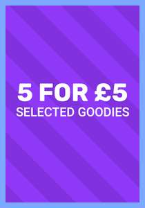 Cracking deals including 5 for £5 on selected items at smiggle