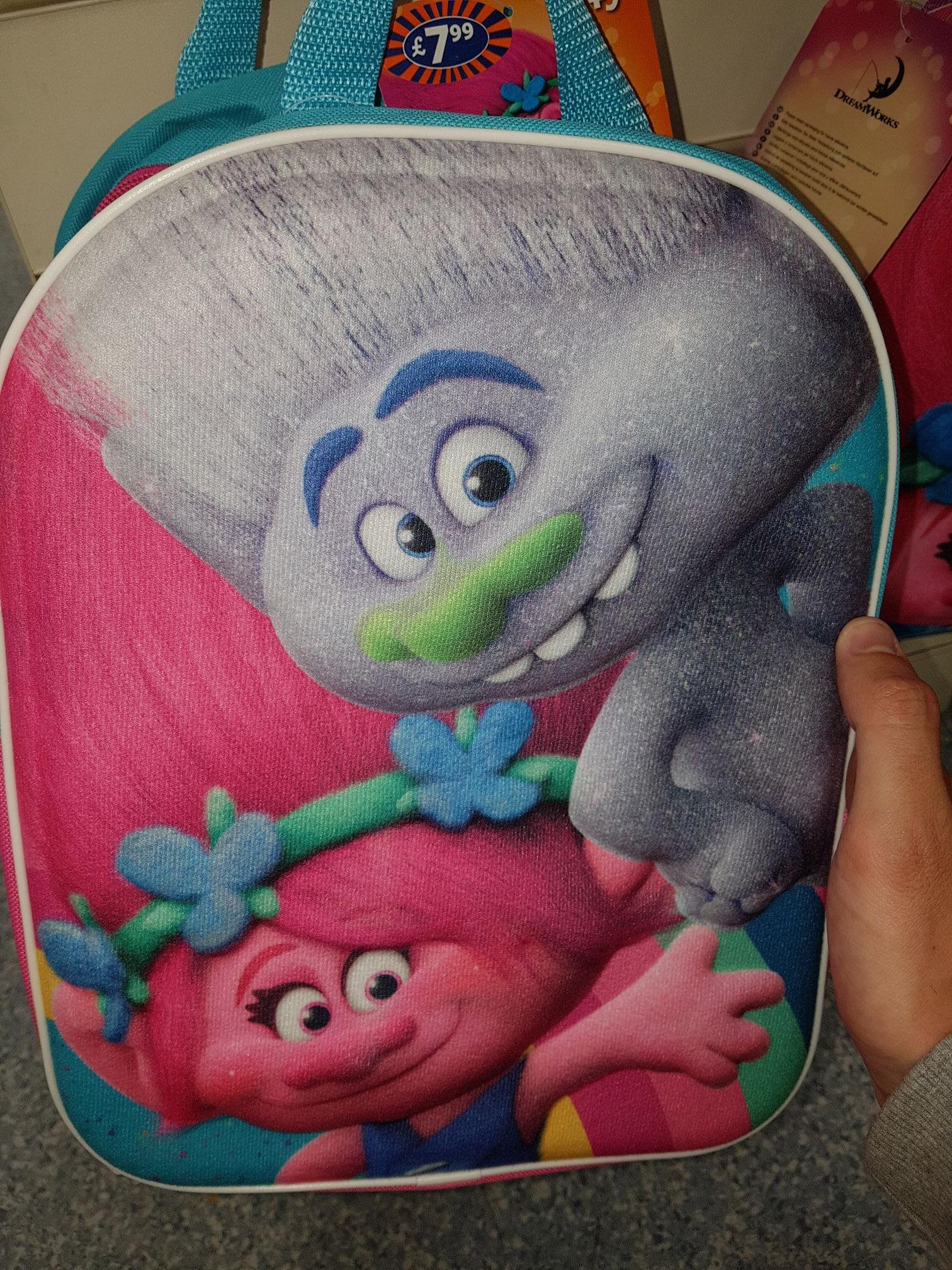 TROLL 3D backpack @ B&M - £1