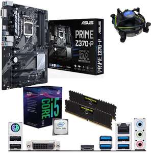 Intel Coffee Lake Core i5 8400 pre built bundle £349.99 @ Amazon sold by components4all-ltd.