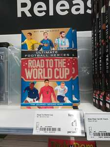Ultimate Football Heroes - Road to the World Cup £1 in-store at Asda!!!