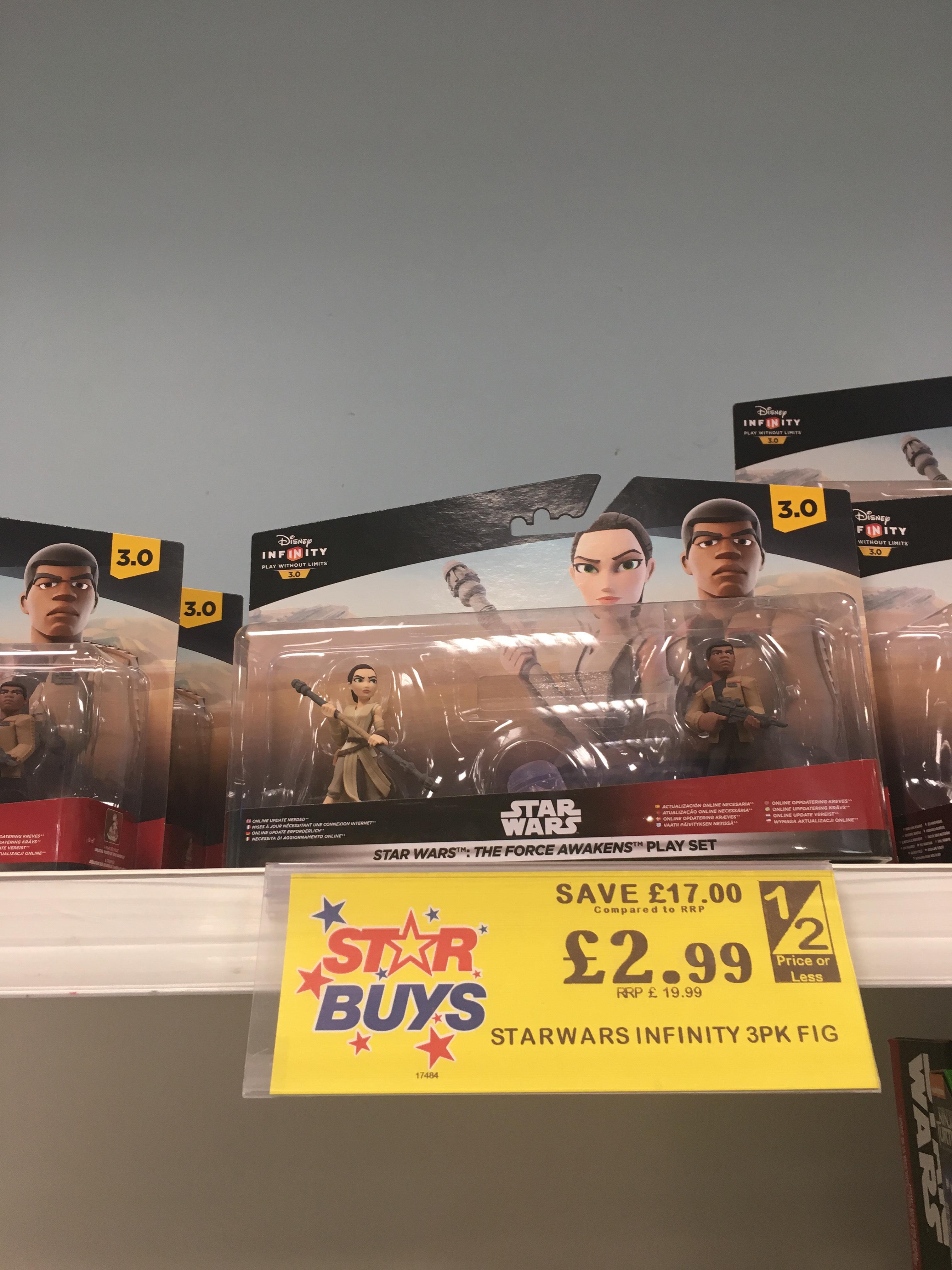 The Force Awakens Play Set - Disney Infinity 3.0 (Disney Infinity) - £2.99 @ Home Bargains