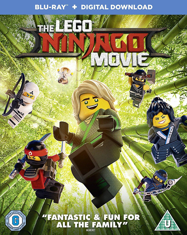 Lego Ninjago Movie Blu-Ray £7.49 (Prime) £8.48 Non Prime @ Amazon