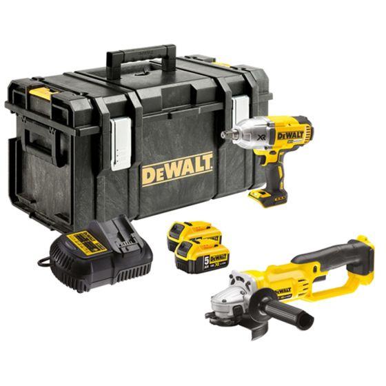 DeWalt DCK269P2 18v XR Twin Pack 5.0Ah Kit (DEWDCK269P2) £358.28 My Tool Shed