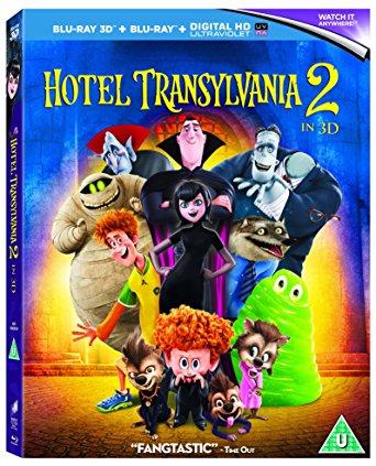 Hotel Transylvania 2 3D bluray £1 @ Poundland