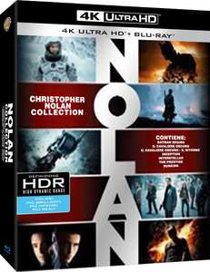Nolan Collection (4K UltraHD + Blu Ray) plus 2 other Blu Rays from £48.21 delivered @ Amazon.it