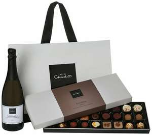 MEGA DEAL Hotel Chocolat Chocolate and Prosecco Hamper £10 (+£5.99 del) @ Approved Food