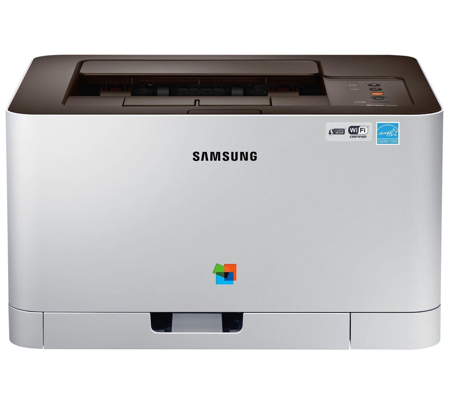 Samsung SL-C430W Wi-Fi Colour Laser Printer £99.99 @ Argos
