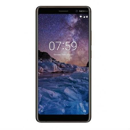 Nokia 7 Plus 4GB/64GB Dual Sim SIM FREE/ UNLOCKED - Black £269.99 @ Toby deals