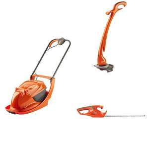 Flymo Lawn Mower and Hedge Trimmer and Strimmer for £73.90 at Amazon  - only £14 more than mower!