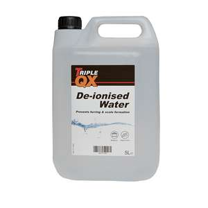 TRIPLE QX De-Ionised Water 5Ltr - £1.79 delivered @ CarParts4Less