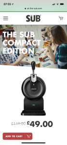 Heineken The Sub Compact Edition £49 at UK The Sub  *Pls do not offer / request referrals*