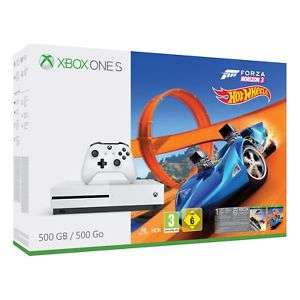 Xbox One S 500GB Console in White with Forza Horizon 3 and Hot Wheels £184 @ Co op / ebay