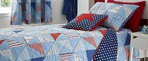 Cool Patchwork Duvet Cover and Pillowcase Set Single £6 / Double £8 @ Dunelm - Free c&c