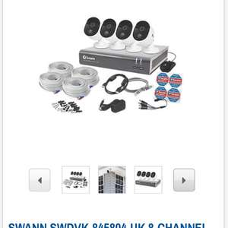 Swann 1080p cctv reduced £299.99 at Screwfix