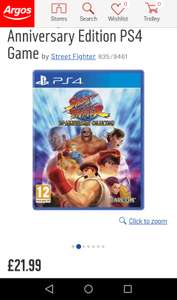 Street Fighter 30th Anniversary collection (PS4) - £21.99 @ Argos