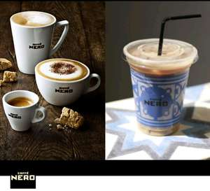 O2 Priority: Free hot drink, iced latte or iced americano from Caffe Nero