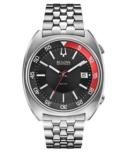 Mens Bulova Accutron II Snorkel bracelet watch 96B210  RRP:£399 - £199.50 @ Chapelle