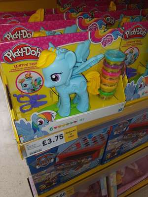 My Little pony play-doh £3.75 @ Tesco Park road Liverpool