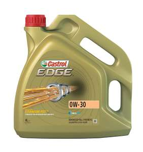 Castrol 1533EB EDGE Engine Oil 0W-30 4L Gold £35.64 Dispatched from and sold by EuroCarParts / Amazon