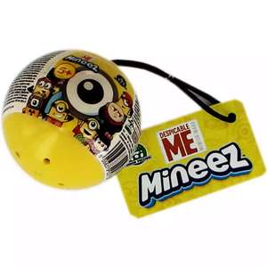 Despicable Me Mineez eggs containing toys. £1 (was £4.99) Free C&C The Works.