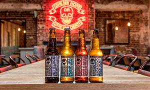 BrewDog Craft Beer School: Tutored Tasting with Five Beers plus Cheese Platter for Two People £16.99 (£8.50pp) with new user code @ Groupon (multiple locations)