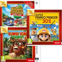 3 New Nintendo Selects to Preorder (Animal Crossing / Mario Maker / DK Country Returns) £14.99 each @ 365 Games