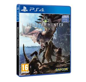 Monster Hunter World (PS4/Xbox One) £20 Delivered (Ex-Rental) £20 @ Boomerang