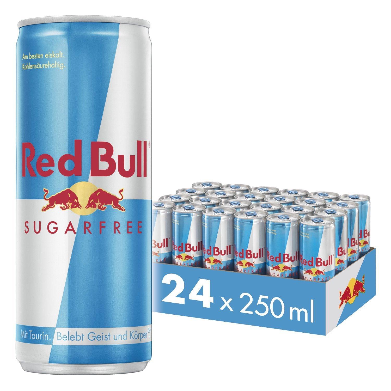 Red Bull Sugar Free - 24 cans - £16.80 (Prime) £21.29 (Non Prime) @ Amazon.