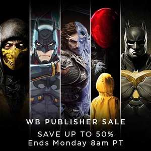 Warner Bros Sale at PlayStation PSN Store US *Batman Arkham Series, Injustice, Lego Series, Middle Earth, Cars 3, Dying Light, Mad Max and MORE