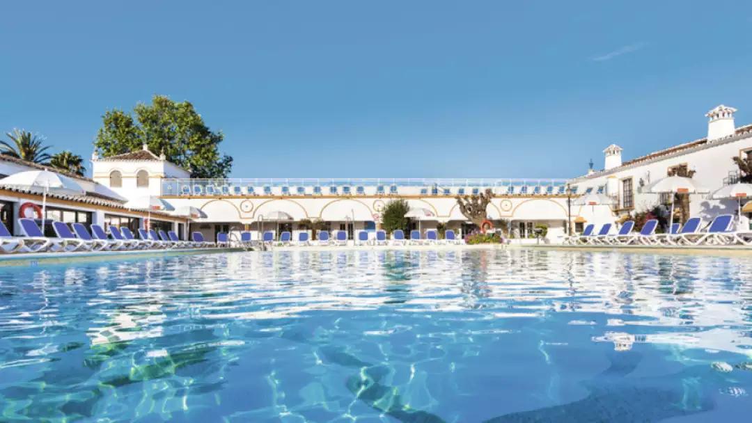7 night All Inclusive, June, Globales Cortijo Blanco, San Pedro De Alcantara, Costa Del Sol, Spain inc flights (Gatwick), luggage, transfers £293.50 pp based on two @ Tui