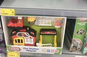 Little Tikes Fire Station/Supermarket Playset £5 each INSTORE @ Asda