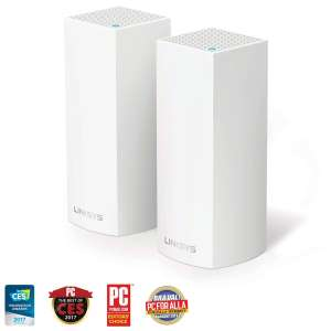 Linksys Velop Whole Home Mesh WiFi System, AC2200 tri band Pack of 2 @ £199.99 at Costco