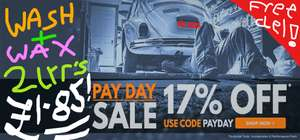7 Items in Sale inc TRIPLE QX Wash & Wax - 2.5ltr **£1.85** + 6 others > 80% off sale + 17% off new code + Free Delivery!