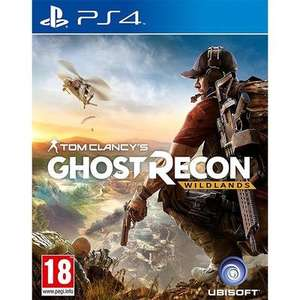 Tom Clancy's Ghost Recon: Wildlands PS4 (used) @ musicmagpie - £7.99