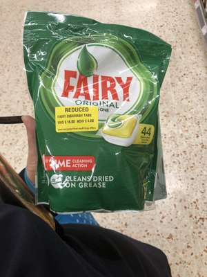 Fairy Dishwasher Tablets. 44 for £4 instore @ Morrisons (Widnes)