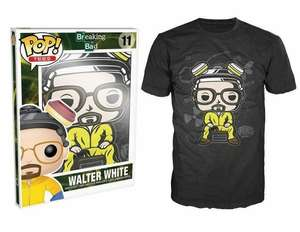 Funko POP! Tees: Breaking Bad - Walter T-Shirt £5.99 Delivered @ Go2Games