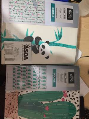 Asda cute bedsheets from £5 on sale instore