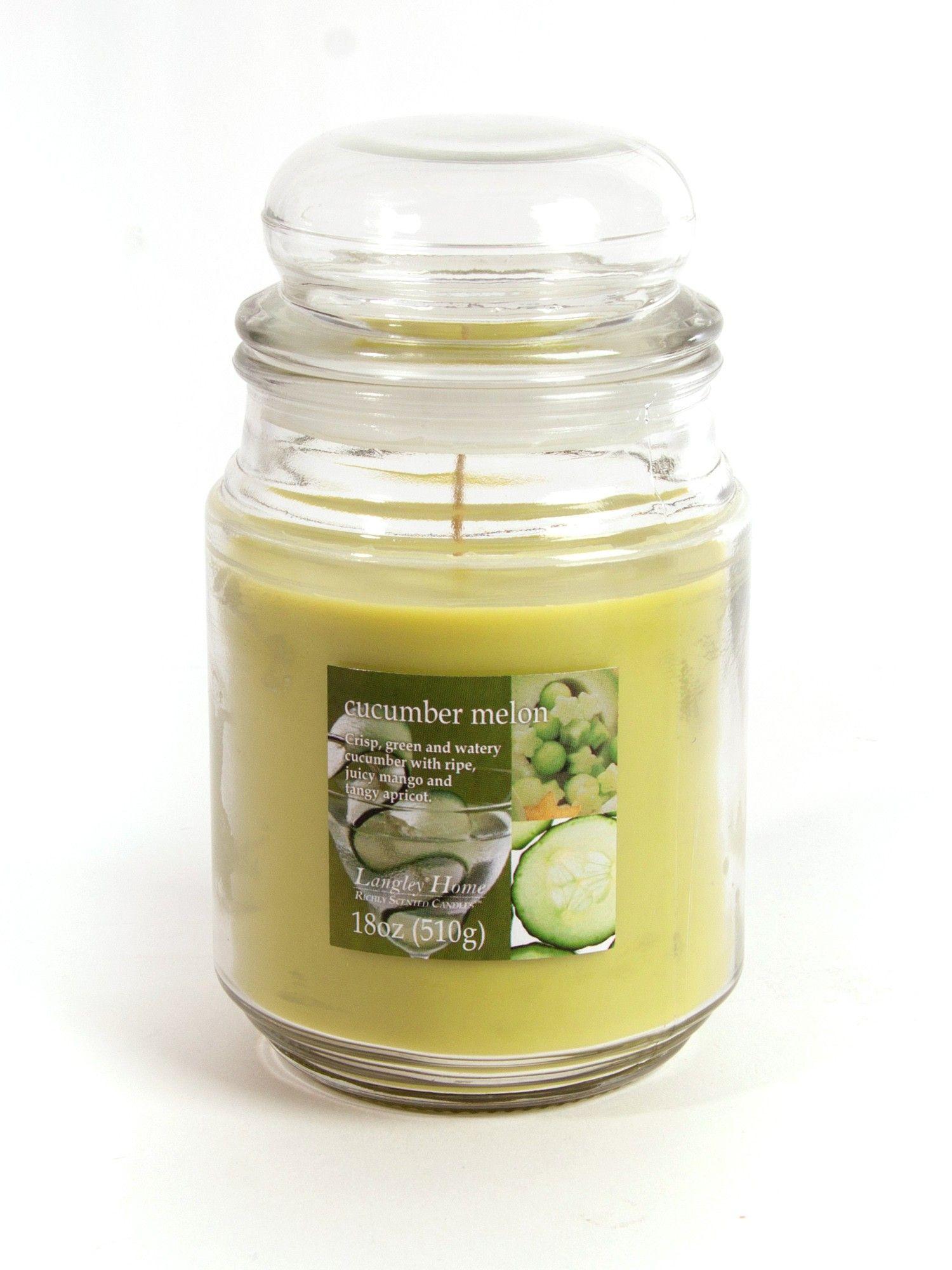 Cucumber Melon Large Jar Occasion Value Candle @ Clinton's