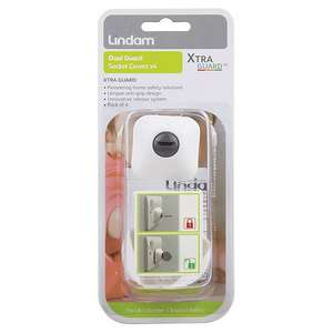 Lindam dual guard socket covers x 4 only 50p online @ Morrisons