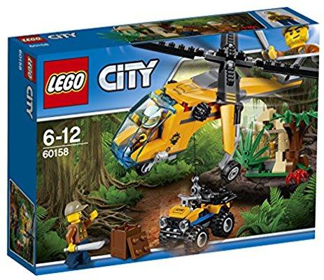 LEGO 60158 Jungle Cargo Helicopter - £7.99 @ Amazon with Prime (£10.98 non-Prime)