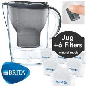 Brita water jug & 6 Maxtra+ cartridges at Ebay/ozaroo for £24.59