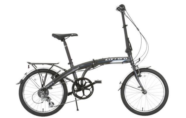Carrera Intercity lightweight (12kg) folding bike now £280 (was £350) at Halfords.