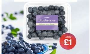 Iceland 7 Day Deal Blueberries (125g) £1