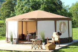 2 Night Glamping Break in the New Forest Dorset for two people from just £36 (Bell Tents, Pods & Lodges Available) at Wowcher