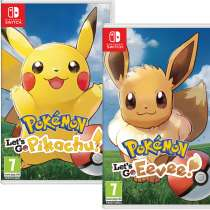 Pokemon Let's Go Pikachu/Eevee! Nintendo Switch Game £42.99 (Pre-order) @ 365Games